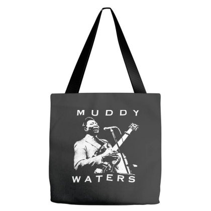 Muddy Waters Tote Bags Designed By Pinkanzee