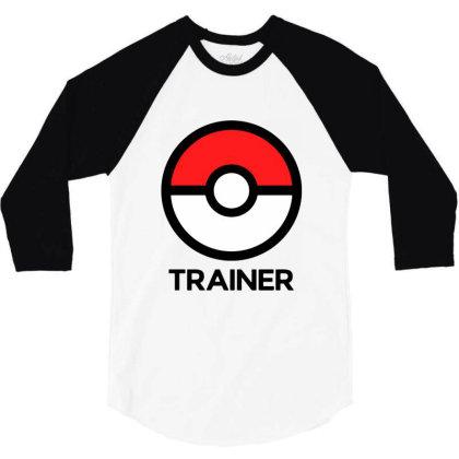 Trainer 3/4 Sleeve Shirt Designed By Pinkanzee