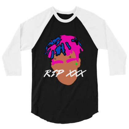 Rest In Peach 1998 2018 Tee 3/4 Sleeve Shirt Designed By Pinkanzee