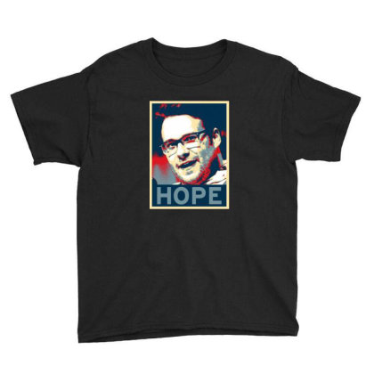 Hope Poster Youth Tee Designed By Pinkanzee