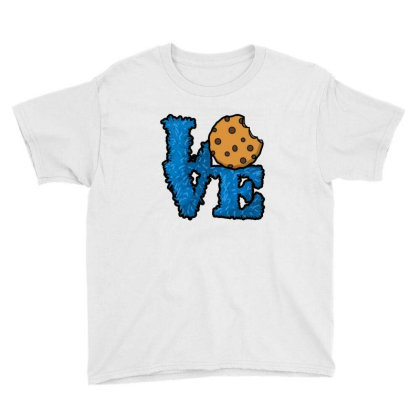 Love Cookies Youth Tee Designed By Pinkanzee