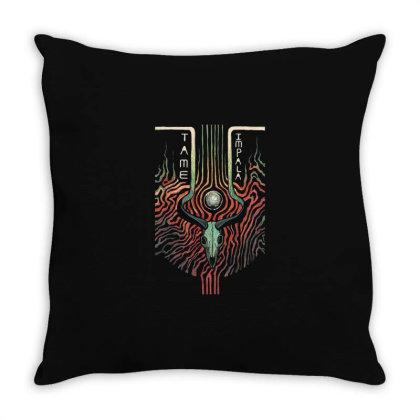 Tame Impala Throw Pillow Designed By Pinkanzee