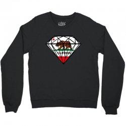 California Diamond Crewneck Sweatshirt   Artistshot