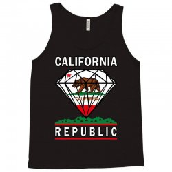 California Diamond Republic Tank Top | Artistshot