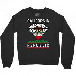 California Diamond Republic Crewneck Sweatshirt | Artistshot