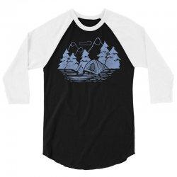 Camping 3/4 Sleeve Shirt | Artistshot