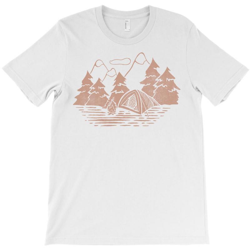 Camping T-shirt   Artistshot