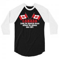 Oh, Canadian Day! 3/4 Sleeve Shirt   Artistshot