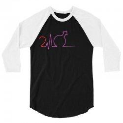 Cardio 24 Black 3/4 Sleeve Shirt | Artistshot