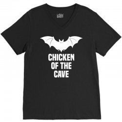 Anchorman 2 - Chicken Of The Cave V-Neck Tee | Artistshot