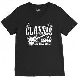 Classic Since 1946 V-Neck Tee | Artistshot