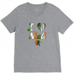 i-love-nial-irish V-Neck Tee | Artistshot