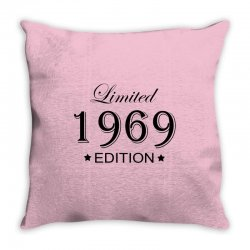 limited edition 1969 Throw Pillow | Artistshot