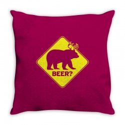 Beer Throw Pillow | Artistshot