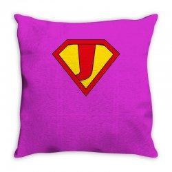 j Throw Pillow   Artistshot