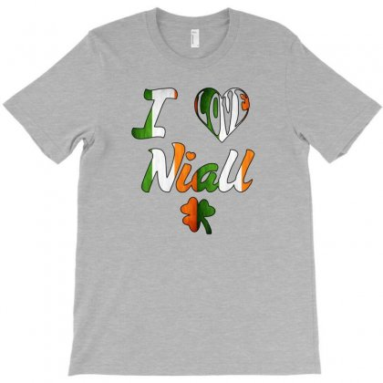 I-love-nial-irish T-shirt Designed By Killakam