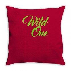 Wild One Throw Pillow | Artistshot