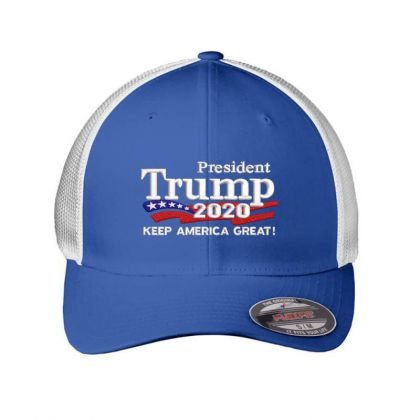 Trump 2020 Keep America Great Campaign Embroidered Hat Embroidered Mesh Cap Designed By Madhatter
