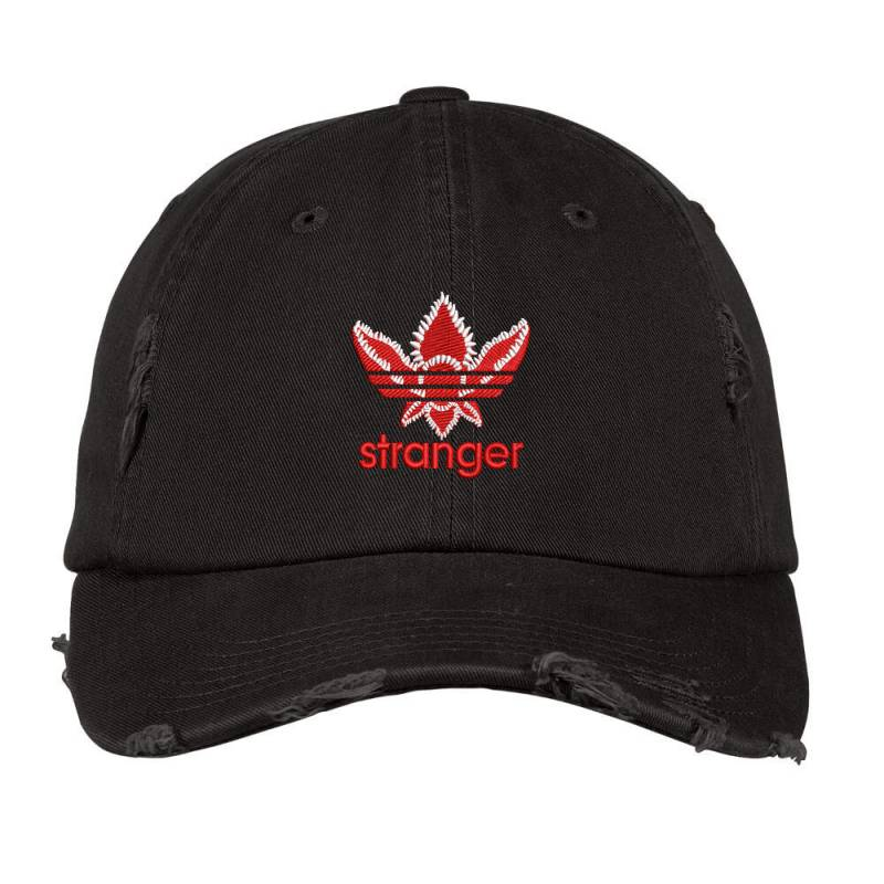 Stranger Things Embroidered Hat Distressed Cap | Artistshot