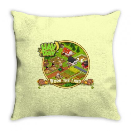 Work The Land Throw Pillow Designed By Dwi Ariyanto