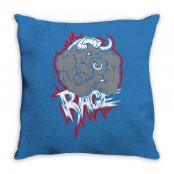 animal rage Throw Pillow | Artistshot