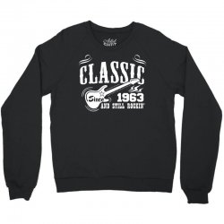 Classic Since 1963 Crewneck Sweatshirt | Artistshot
