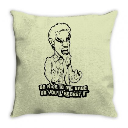 Satan Forbidden Zone Throw Pillow Designed By Specstore