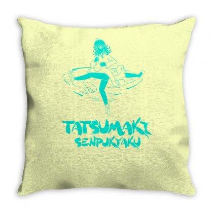 Tatsumaki Senpukyaku Throw Pillow Designed By Specstore