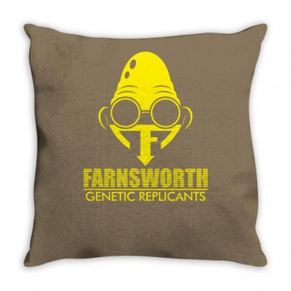 Farnsworth Genetic Replicants Throw Pillow Designed By Specstore