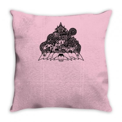 Ilumination Doodle Throw Pillow Designed By Specstore