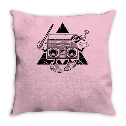Mad Box Throw Pillow Designed By Specstore