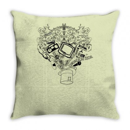 Magic Hat Of Social Throw Pillow Designed By Specstore