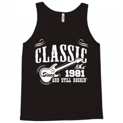 Classic Since 1981 Tank Top   Artistshot