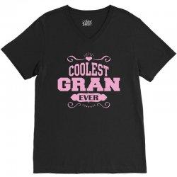 Coolest Gran Ever V-Neck Tee | Artistshot