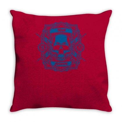 True School Throw Pillow Designed By Specstore