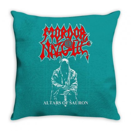 Altars Of Sauron Throw Pillow Designed By Specstore