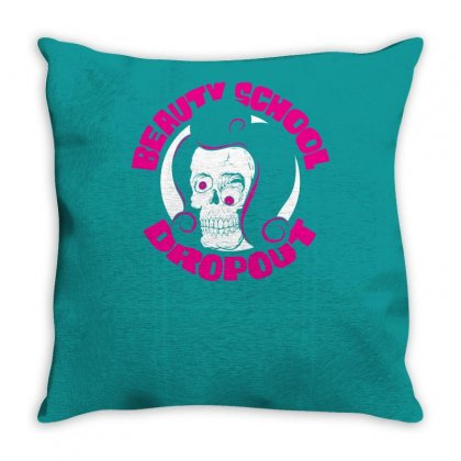Beauty School Dropout Throw Pillow Designed By Specstore