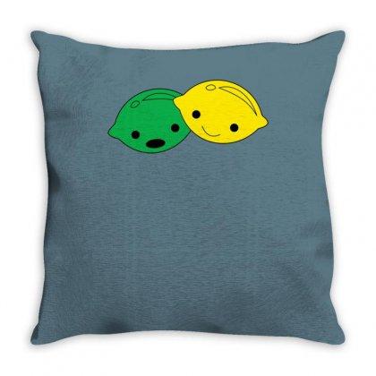 Lemon Lime Throw Pillow Designed By Ismanurmal4