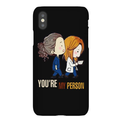 Grey's Anatomy You're My Person Iphonex Case Designed By Pinkanzee