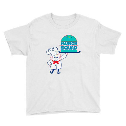 Munch Squad Youth Tee Designed By Pinkanzee