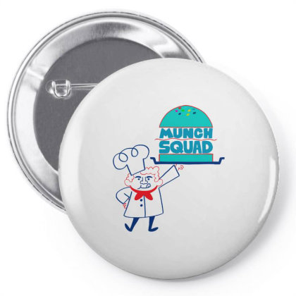 Munch Squad Pin-back Button Designed By Pinkanzee