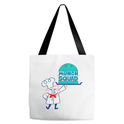 Munch Squad Tote Bags Designed By Pinkanzee