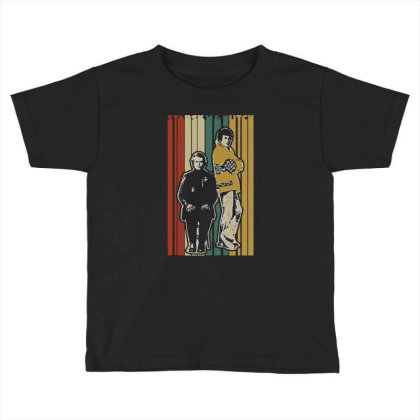 Vintage Duo Toddler T-shirt Designed By Pinkanzee