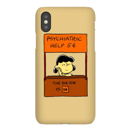 Lucy Van Pelt: The Doctor Is In Iphonex Case Designed By Pop Cultured