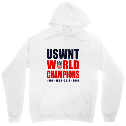 Uswnt 2019 Women's World Cup Champions Unisex Hoodie Designed By Pinkanzee