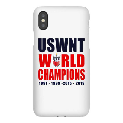 Uswnt 2019 Women's World Cup Champions Iphonex Case Designed By Pinkanzee