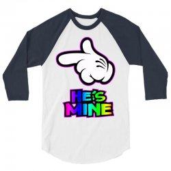 he is mine 3/4 Sleeve Shirt   Artistshot