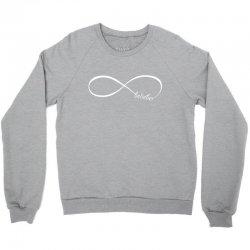 belieber-white Crewneck Sweatshirt | Artistshot