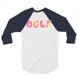 golf 3/4 Sleeve Shirt   Artistshot