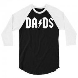 Dads 3/4 Sleeve Shirt   Artistshot